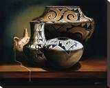 The Acomas Stretched Canvas Print by Chuck Sabatino