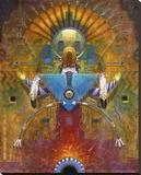 Sonnentänzer Leinwand von Tom Perkinson