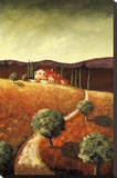 Tuscany Farmhouse I Stretched Canvas Print by Santo De Vita