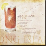Long Island Ice Tea Stretched Canvas Print by Scott Jessop