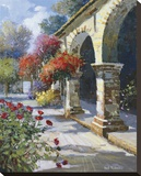 Imposing Arches Stretched Canvas Print by Kent Wallis