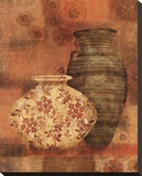 Patterned Urn II Leinwand von Lisa Ven Vertloh