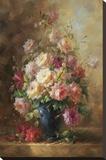 Fluer De L'a Amie Stretched Canvas Print by J Jean