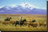 Homeward Bound Stretched Canvas Print by Reginald Jones