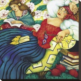 The Rubaiyat Stretched Canvas Print by Linda Carter Holman