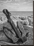 Grounded Anchor Stretched Canvas Print by Keith Dotson