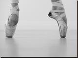 A female ballet dancer Reproduction transférée sur toile