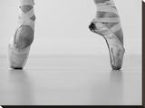 A female ballet dancer Stretched Canvas Print