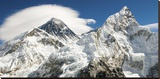 Mount Everest (detail) Stretched Canvas Print
