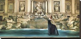 Dolce Vita Stretched Canvas Print by Pierre Benson