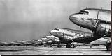 Fleet of Passenger Transport Planes, 1936 (detail) Reproduction sur toile tendue