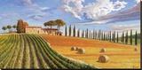 Colline toscane Leinwand von Adriano Galasso