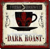 Dark Roast Stretched Canvas Print by Karen J. Williams