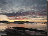 Broadford Sunset I Stretched Canvas Print by Robert Strachan