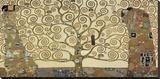 L'arbre de vie Reproduction transférée sur toile par Gustav Klimt