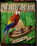 Margarita Stretched Canvas Print by Karen J. Williams