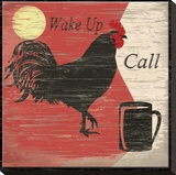 Wake Up Call Stretched Canvas Print by Karen J. Williams