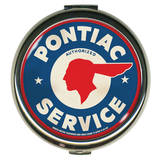 Pontiac Service Round Compact Compact Mirror