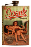 Bettie Page Spank Flask Flask