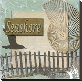 Seashore Stretched Canvas Print by Karen J. Williams