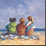 Summer's End Reproduction transférée sur toile par Lucelle Raad