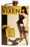 Bettie Page Modern Vixen Flask Flask