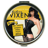 Bettie Page Modern Vixen Round Compact Compact Mirror