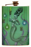 Franken Mermaid Flask Flask