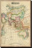 Asia, c.1820 Stretched Canvas Print by John Melish