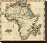 Africa, c.1823 Stretched Canvas Print by Henry S. Tanner