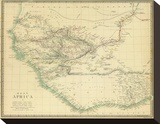 West Africa I, c.1839 Stretched Canvas Print