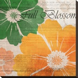 Full Blossom Stretched Canvas Print by Kay Daichi