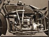 1929 Indian Ace Reproduction transférée sur toile par Markus Cuff