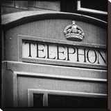 London Calling Stretched Canvas Print by Keith Dotson