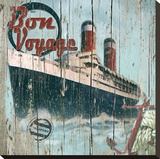 Bon Voyage Stretched Canvas Print by Karen J. Williams