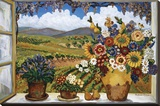 Debbie's View Reproduction sur toile tendue par Suzanne Etienne