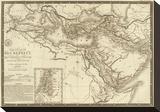 Geographie des Hebreux, c.1821 Stretched Canvas Print by Adrien Hubert Brue