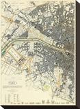 Paris, France, c.1834 Stretched Canvas Print