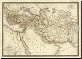 L'Empire d'Alexandre, c.1822 Stretched Canvas Print by Adrien Hubert Brue