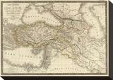 Asie-Mineure, Armenie, Syrie, Mesopotamie, Caucase, c.1822 Stretched Canvas Print by Adrien Hubert Brue