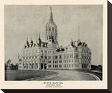 State Capitol, Hartford, Connecticut, c.1893 Stretched Canvas Print