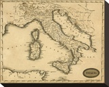 Italy, c.1812 Stretched Canvas Print by Aaron Arrowsmith