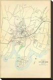 Stamford, Connecticut, c.1893 Stretched Canvas Print