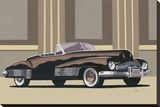 Classic Convertible II Stretched Canvas Print by D. J. Smith