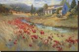 Villa d'Umbria Reproduction sur toile tendue par Ruth Baderian