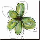 Liquid Flower II Lærredstryk på blindramme af Jan Weiss