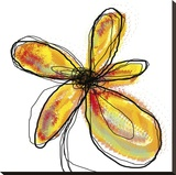 Liquid Flower I Lærredstryk på blindramme af Jan Weiss