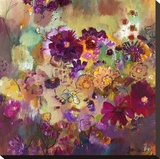 Lavender Afternoon Opspændt lærredstryk af Joan Elan Davis