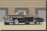 Classic Convertible I Stretched Canvas Print by D. J. Smith