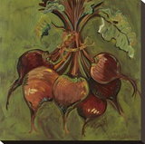Beets Stretched Canvas Print by Suzanne Etienne